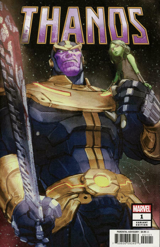 Thanos #1 1/50 Gerald Parel Variant