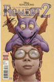 Disney Kingdoms Figment 2 #3 (Marvel, 2015) - Signed - Jim Zub - COA