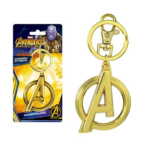 Key Ring - Avengers3 Gold Logo