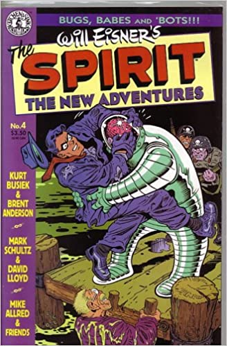 Spirit: The New Adventures (Vol 1 1997) #4 CVR A