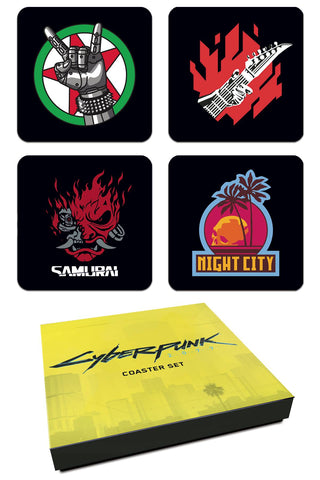 CYBERPUNK 2077 COASTER SET (C: 0-1-2)
