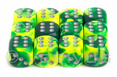 Gemini 6: 16mm D6 Green Yellow/Silver (12)