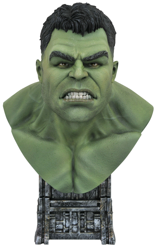 LEGENDS IN 3D - MCU Hulk 1/2 Scale Bust