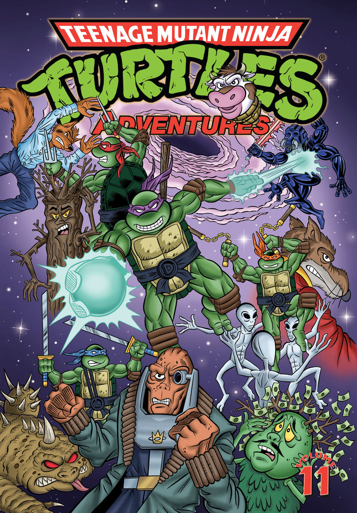 TMNT Adventures TP Vol 11 (Jan160435)