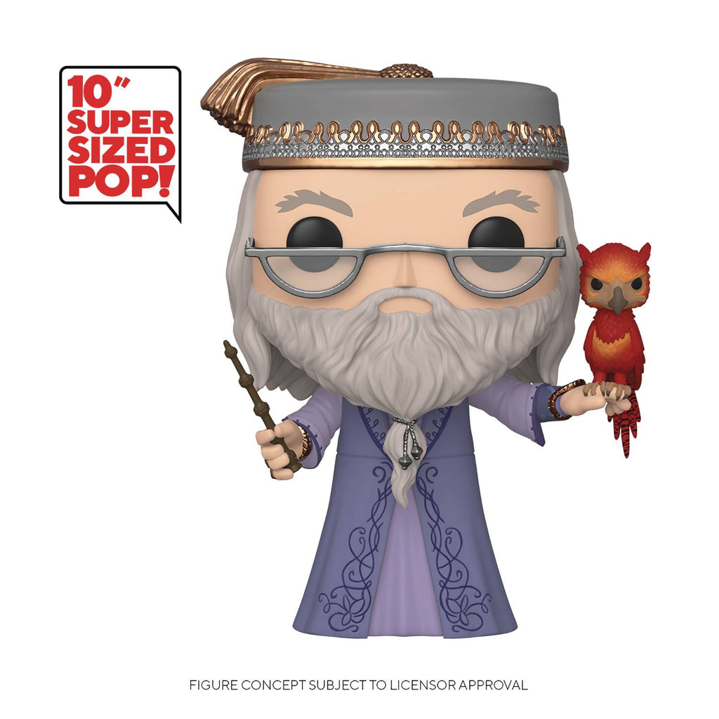 POP 10in HP - Dumbledore w/Fawkes