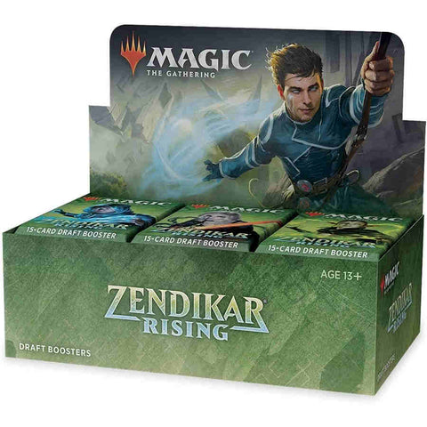 MTG: Zendikar Rising Draft Booster Display (36)