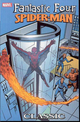 Fantastic Four Spider-Man Classic TP