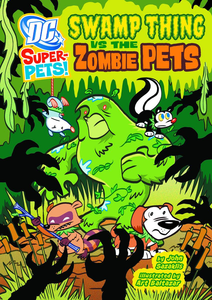 DC Super Pets Yr TP Swamp Thing Vs Zombie Pets