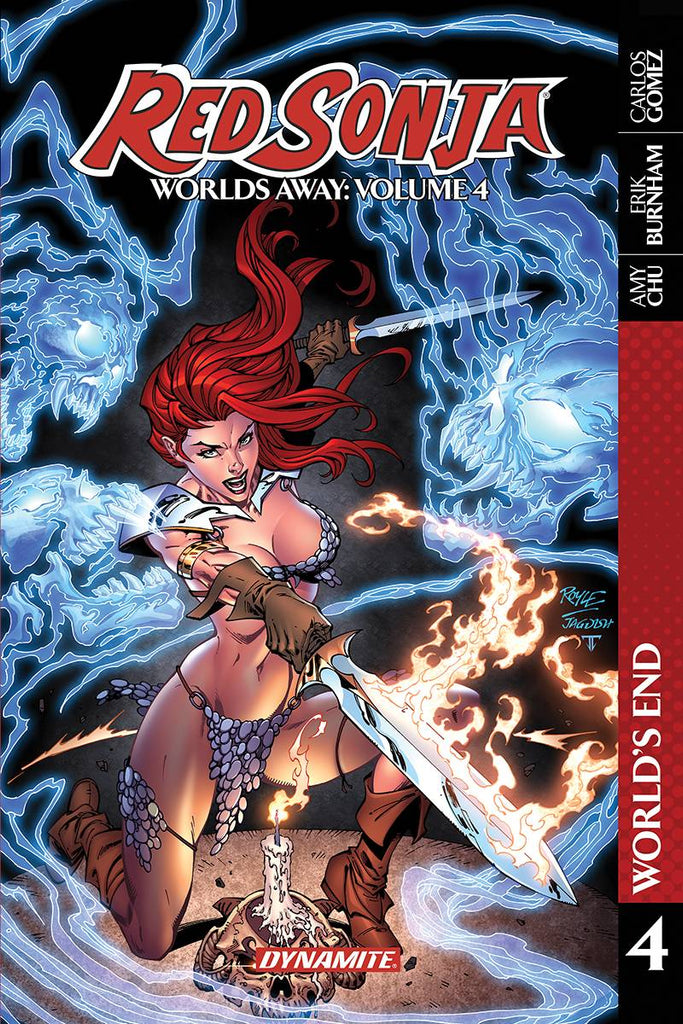 Red Sonja Worlds Away TP Vol 04 Blade Skath