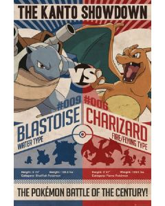 POSTER - Pokemon - Red Vs. Blue