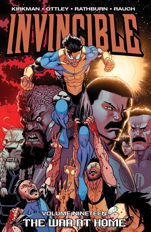 Invincible TP Vol 19 The War At Home