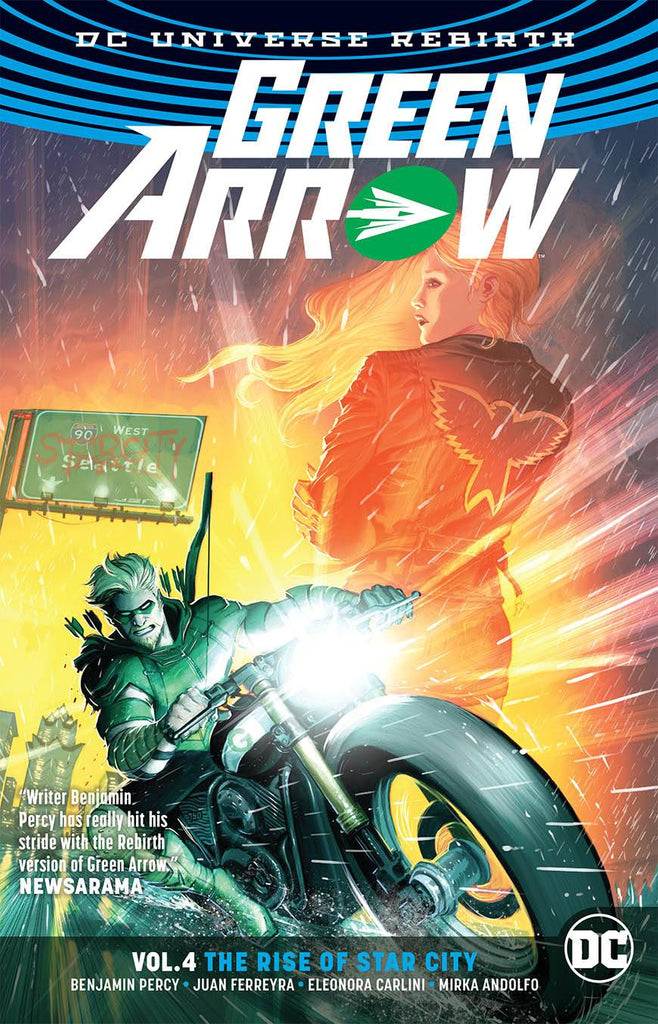 Green Arrow TP (Rebirth) Vol 04 Blood And Oil