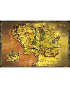 POSTER - Lord of the Rings Map