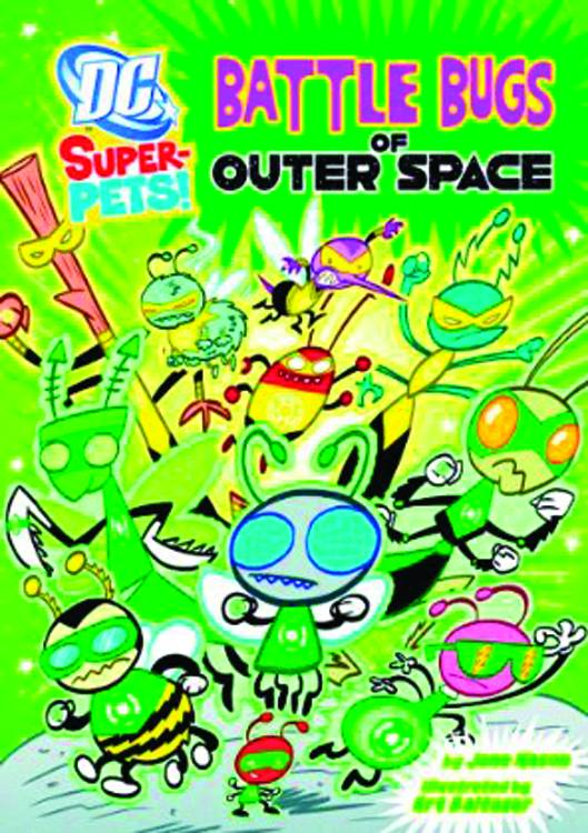 Dc Super Pets Yr Tp Battle Bugs Of Outer Space