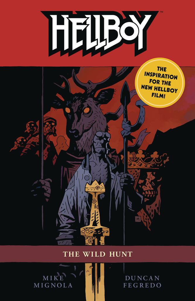 Hellboy Wild Hunt TP 2nd Ed