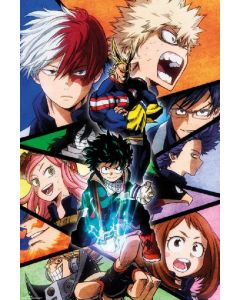 POSTER - My Hero Academia Season 2