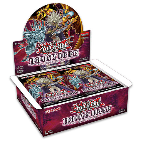 Yu-Gi-Oh: Legendary Duelists Rage of Ra Booster Pack Display
