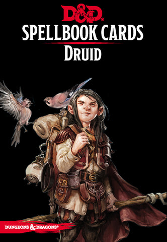 Dungeons and Dragons RPG: Spellbook Cards - Druid Deck (131 cards)