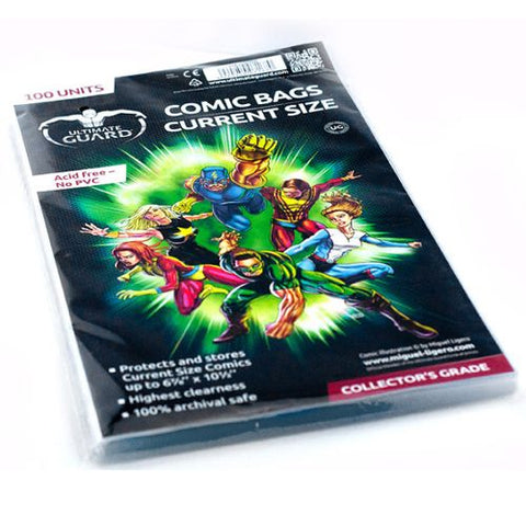 Bags: Comic Book - CurrentSize (100)