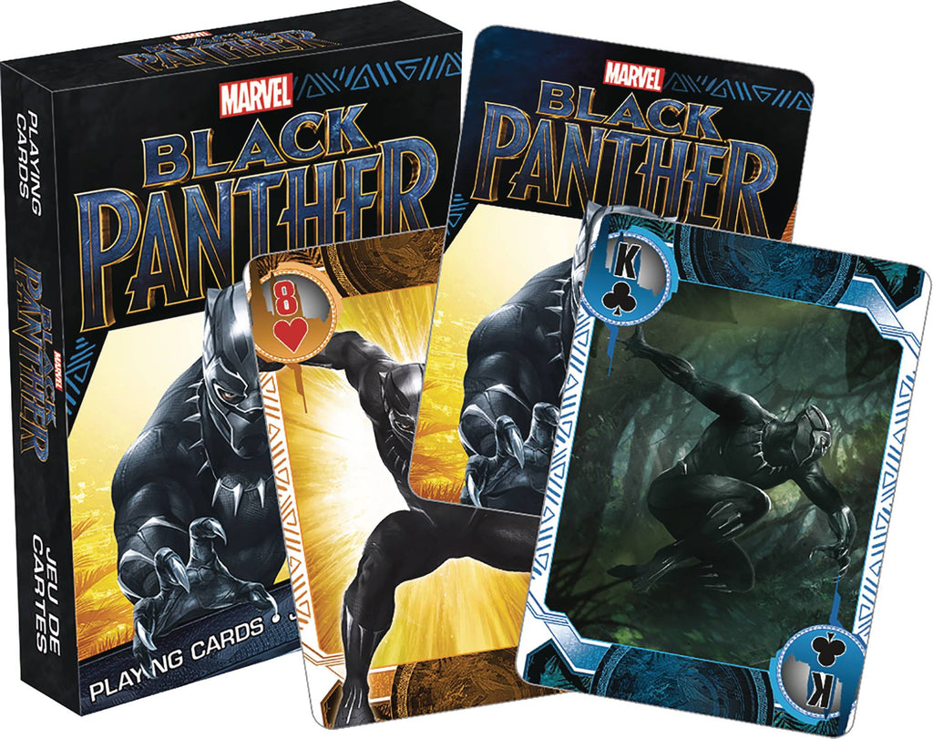 Playing Cards - Black Panther