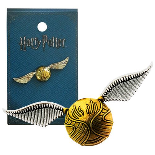 Lapel Pin - Harry Potter Snitch Pewter