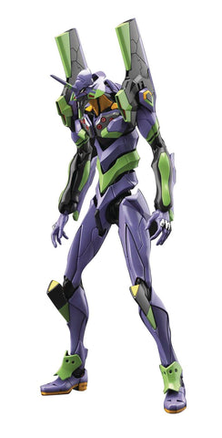 REAL GRADE EVANGELION UNIT-01 W/PLATFORM DX RG MDL KIT SET
