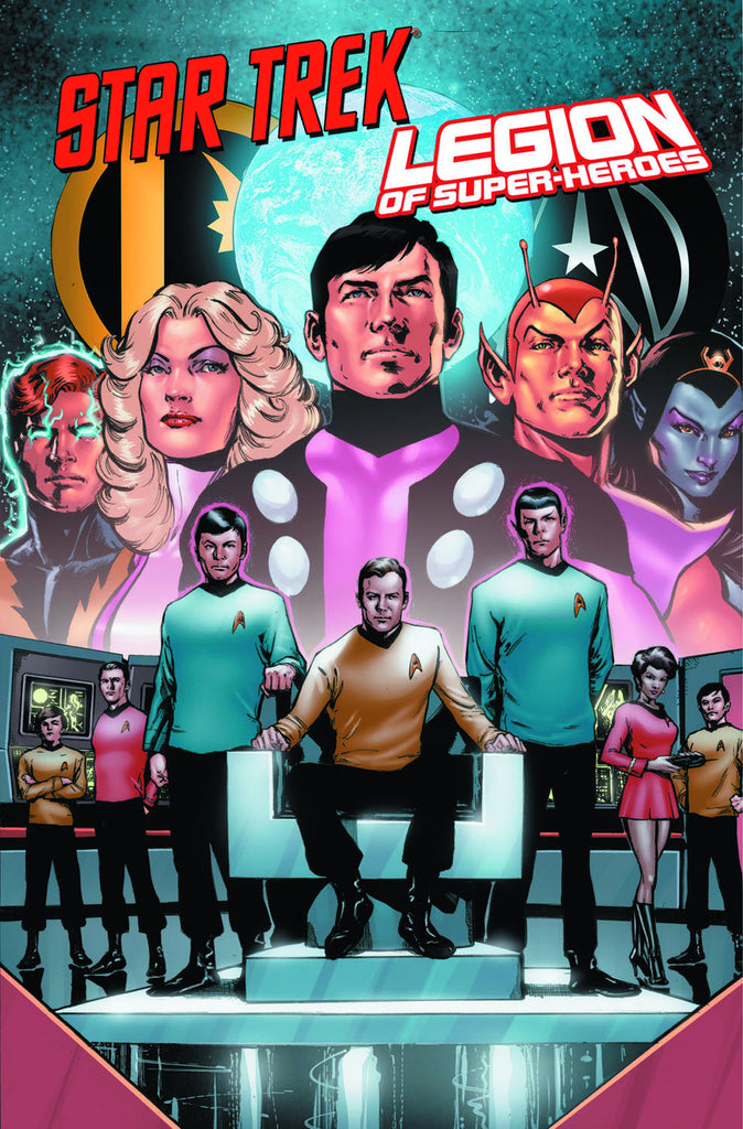 Star Trek Legion Of Superheroes Tp (Apr130349)