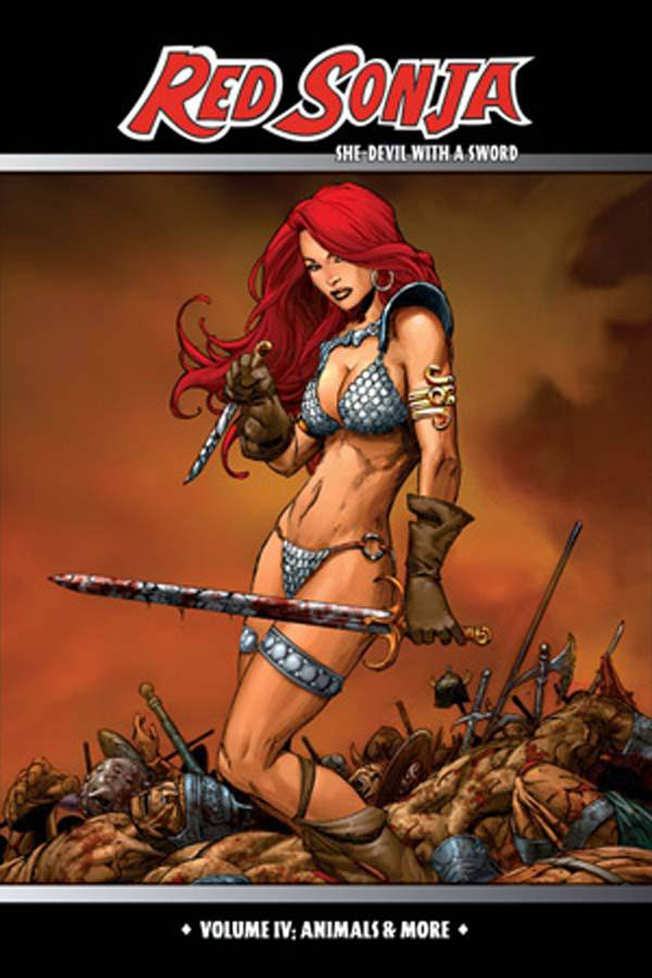 RED SONJA SHE DEVIL TP VOL 04 ANIMALS & MORE (MR)