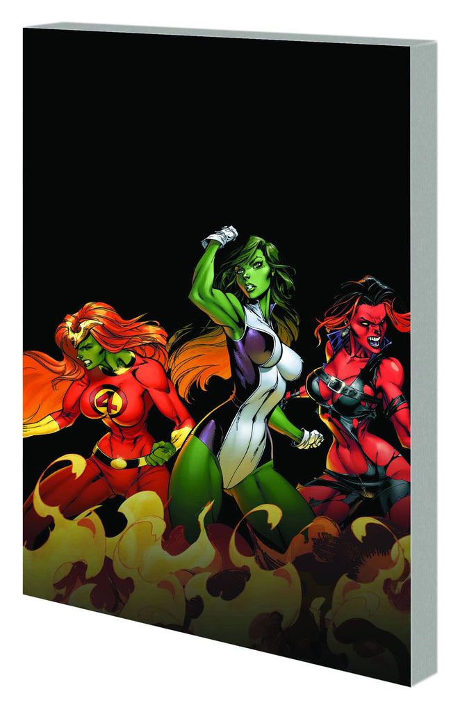 Hulk Fall Of Hulks TP Savage She-Hulks