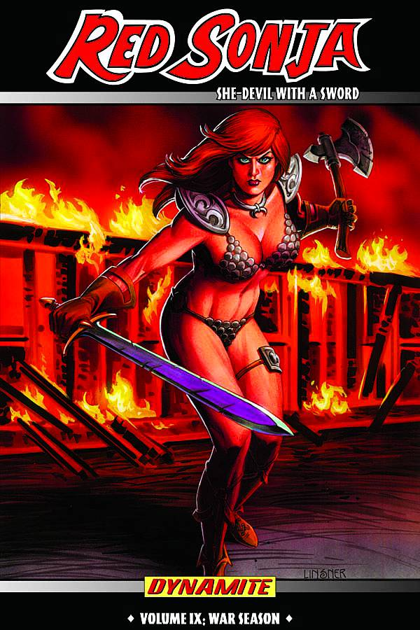 RED SONJA SHE DEVIL TP VOL 09 WAR SEASON