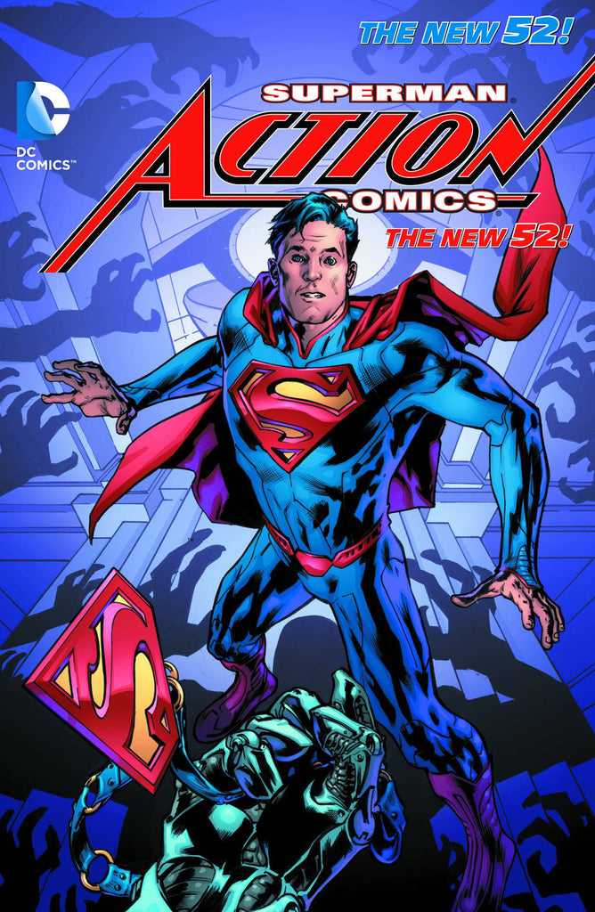 Superman Action Comics TP (N52) Vol 03 At The End Of Days