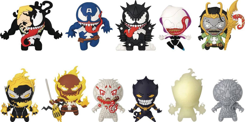 3D KEYRING 24PC - Marvel Venom