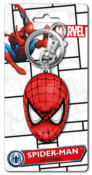 Key Ring - Spider-Man Head COLOR