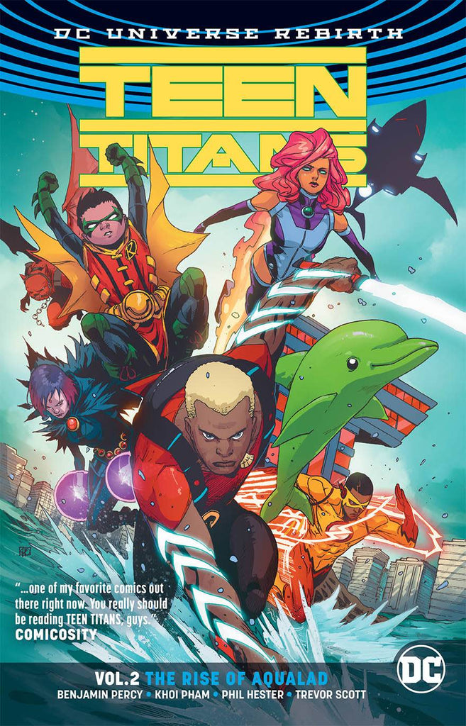 Teen Titans TP (Rebirth) Vol 02 The Rise Of Aqualad