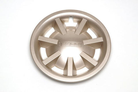 "8"" Metallic Gold Hubcap Assembly"
