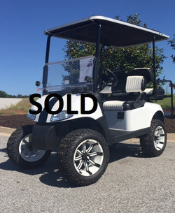 Refurbished 2013 E-Z-GO RXV 48volt 4 Passenger Golf Cart