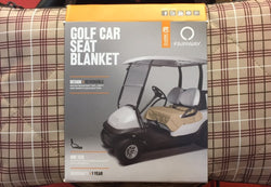 Golf Car Seat Blanket