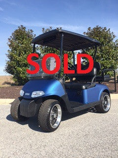 Refurbished 2012 E-Z-GO RXV 48v Electric 4 Passenger Golf Cart
