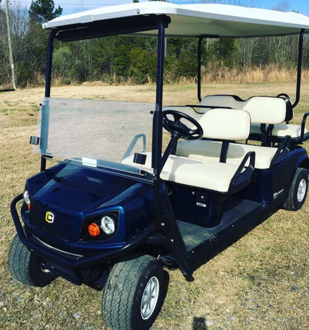 Used 2014 Cushman Shuttle 6 Passenger Gas