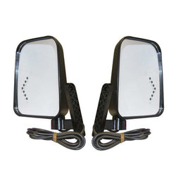 Universal Side Mirror with LED Turn Signal Kit
