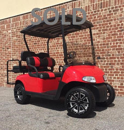 Refurbished 2012 E-Z-GO RXV 48V 4 Passenger Electric Golf Car