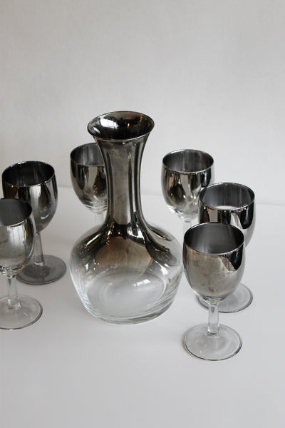 MCM Decanter and Glasses