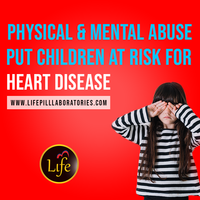Physical and Mental Abuse Put Children at Risk for Heart Disease