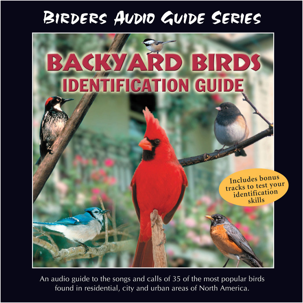 Backyard Birds Identification Guide - NATURESCAPES