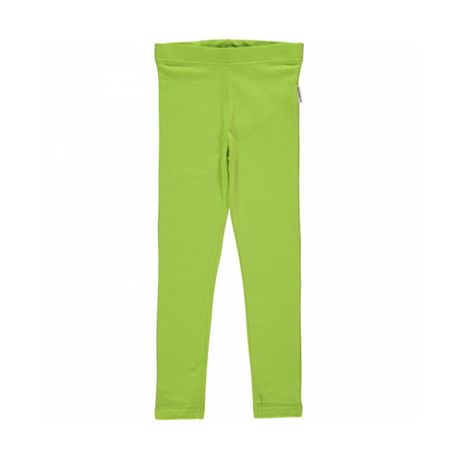 Maxomorra Bright Green Leggings