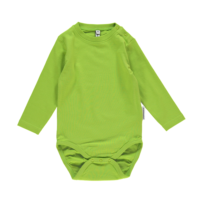 Maxomorra Bright Green Bodysuit