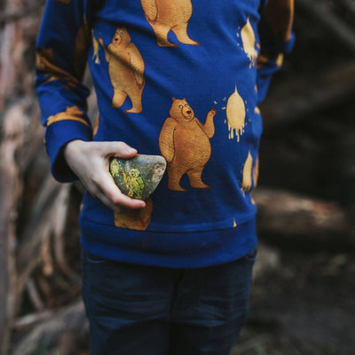 Oomph & Floss Pablo the Bear Long Sleeved Top
