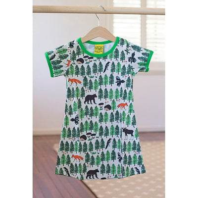 Duns Sweden Forest Life Summer Dress