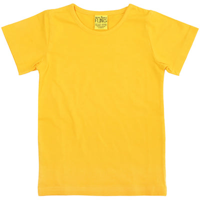 More Than a Fling Yellow T-Shirt