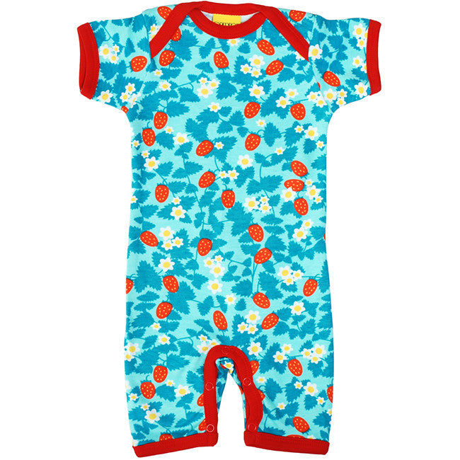 Duns Blue Strawberry Summer Suit